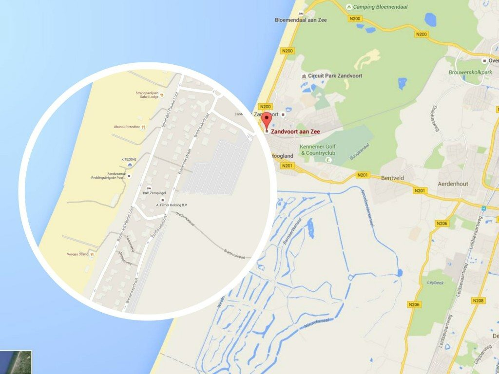 Zandvoort Map